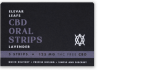 Elevar Hemp CBD Lavender CBD Oral Strips Single Strip Menu