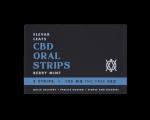 Elevar Hemp CBD Berry Mint CBD Oral Strips Single Pack Front