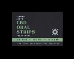 Elevar Hemp CBD Fresh Mint CBD Oral Strips Single Pack Front