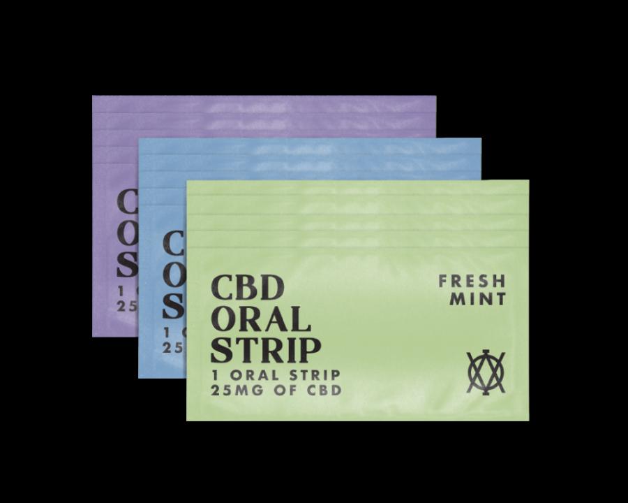 Elevar Hemp CBD Oral Strips Starter Kit 15 Strips