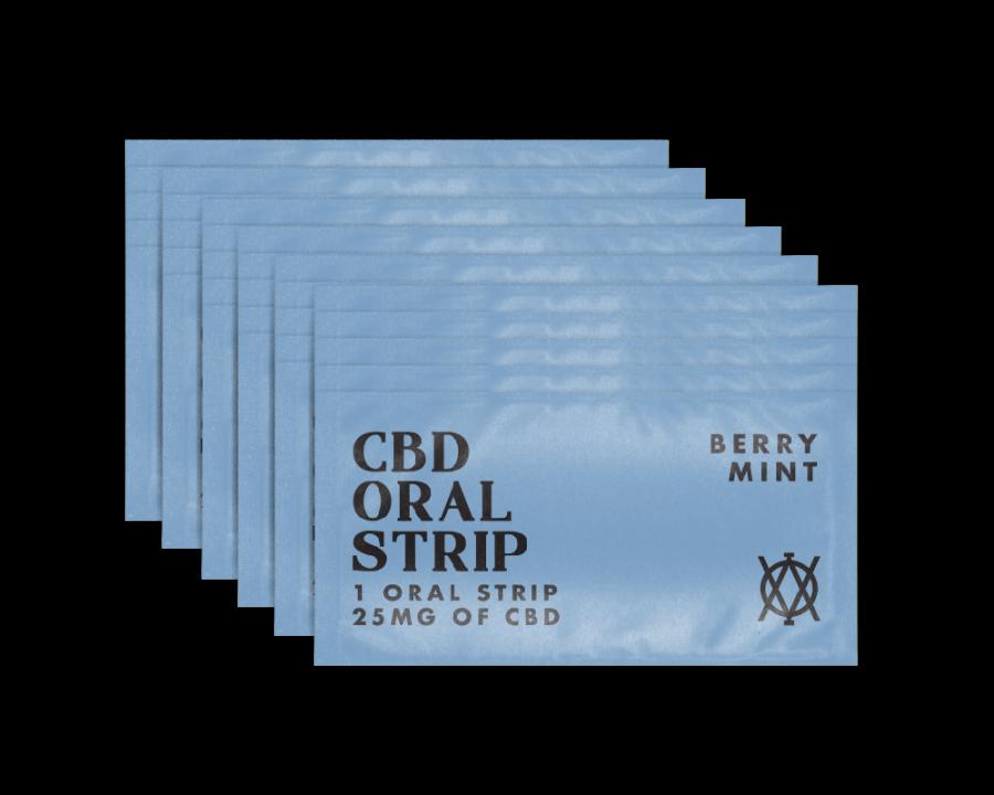 Elevar Hemp CBD Berry Mint CBD Oral strips 30 strips